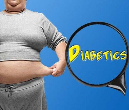 диабет ожирение
